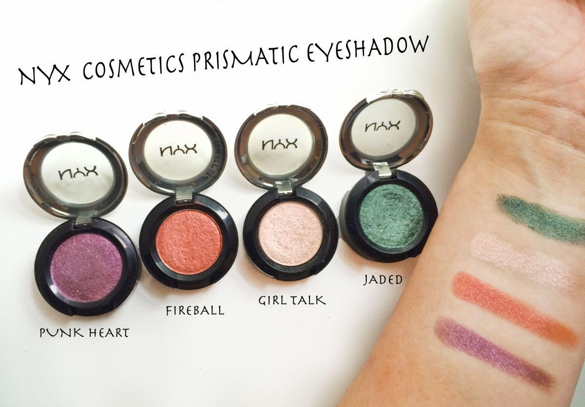 NYX Cosmetics Prismatic Eyeshadow Review