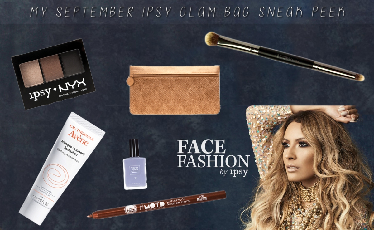 September IPSY Glam Bag Sneak Peek