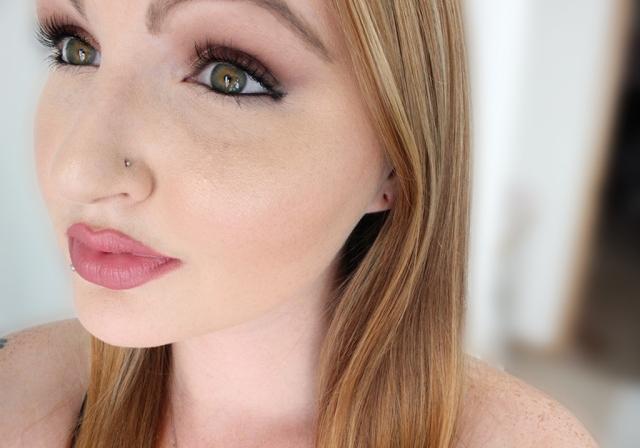 Lipstick selfie