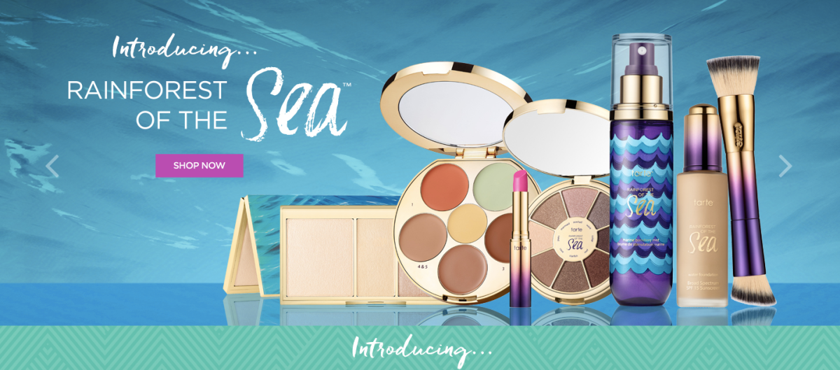 TARTE Cosmetics Rainforest of The Sea