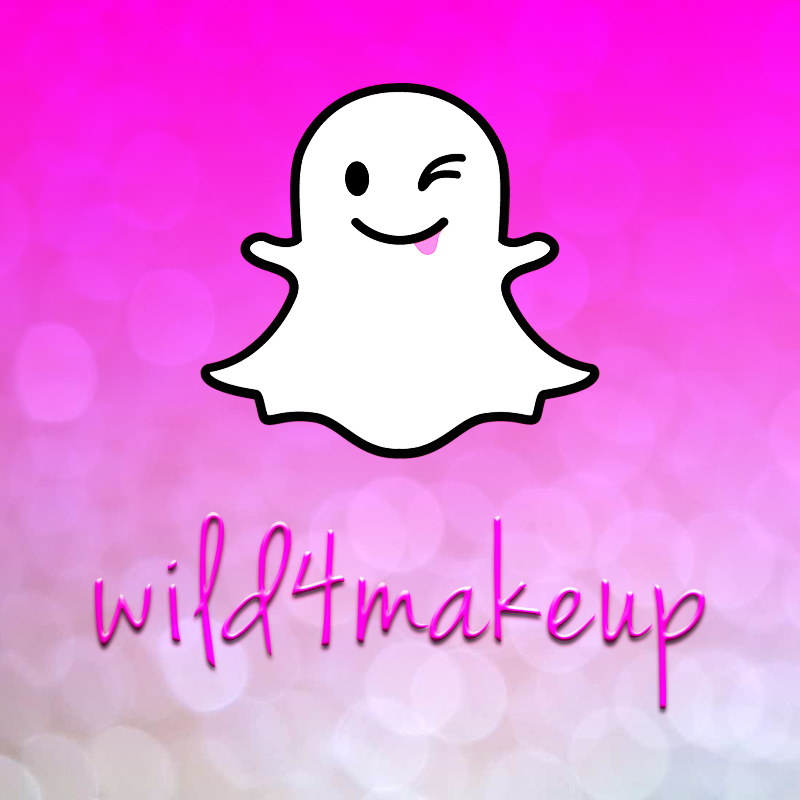 Add Wild4Makeup on Snapchat :)