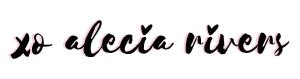 alecia rivers Logo Signature_signature